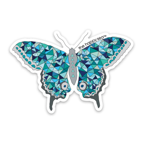 "3"" Butterfly Vinyl Sticker"