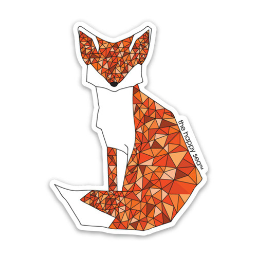 "3"" Fox Vinyl Sticker"