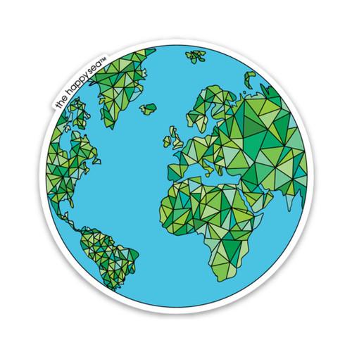 """3"""" Globe Vinyl Sticker"""