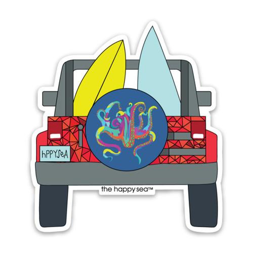 """3"""" Jeep Vinyl Sticker"""