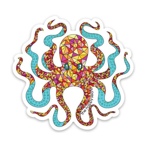 """3"""" Octopus Vinyl Sticker"""