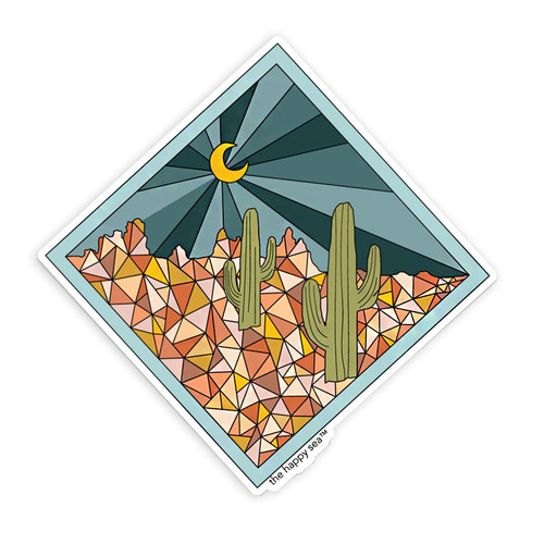 "4"" Saguaro Vinyl Sticker"