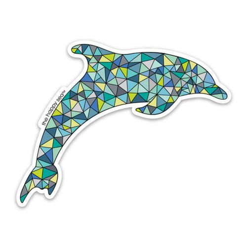 """4"""" Dolphin Vinyl Sticker"""