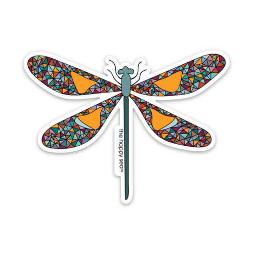 "4"" Dragonfly Vinyl Sticker"