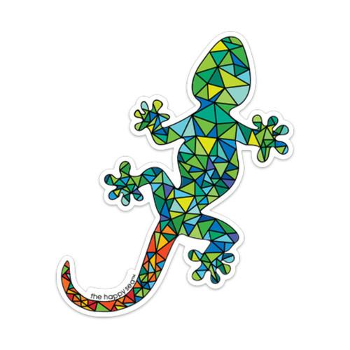 """4"""" Lizard Vinyl Sticker"""