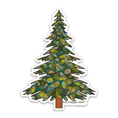 "4"" Pinetree Vinyl Sticker"