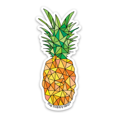 "4"" Pineapple Vinyl Sticker"