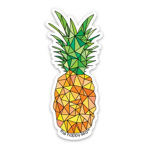 "4"" Pineapple Vinyl Sticker"