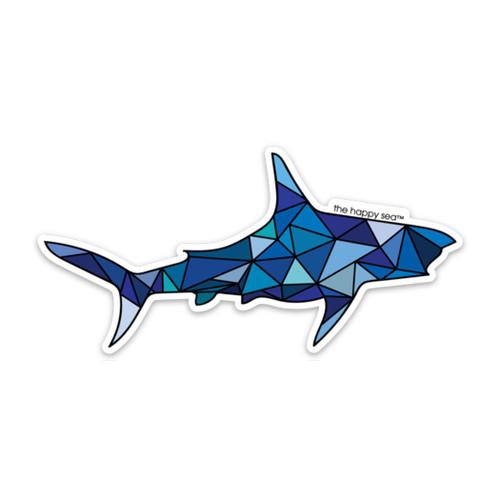 """4"""" Shark Vinyl Sticker"""