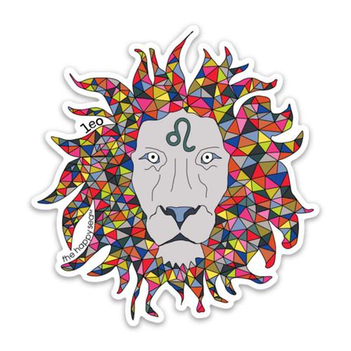 "4"" Leo Vinyl Sticker"