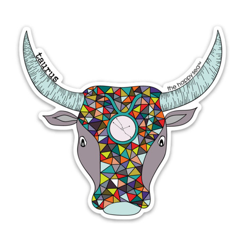 "4"" Taurus Vinyl Sticker"