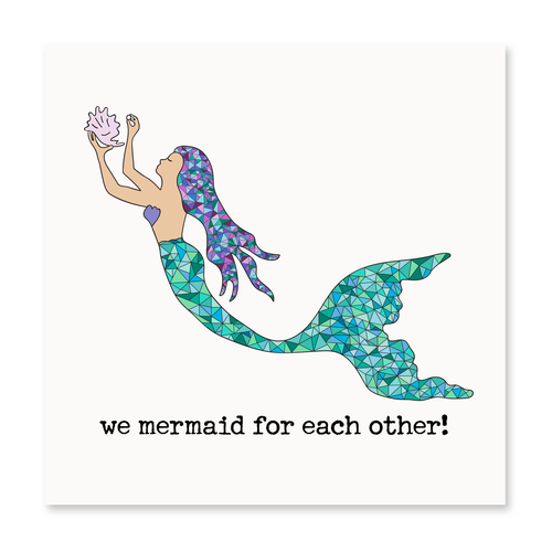 We Mermaid for Each Other!