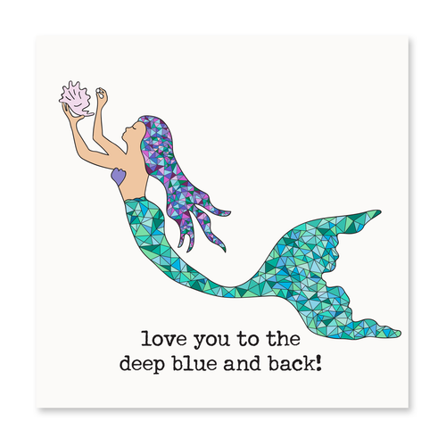 Love You to the Deep Blue and Back!