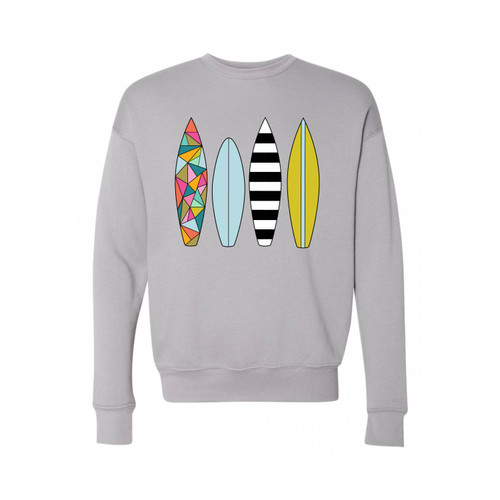 Retro Surf Storm Gray Crew