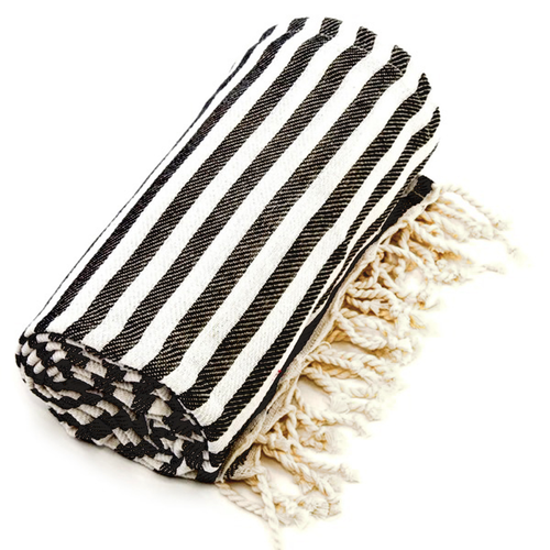 AN-TURKISH TOWEL-BLK