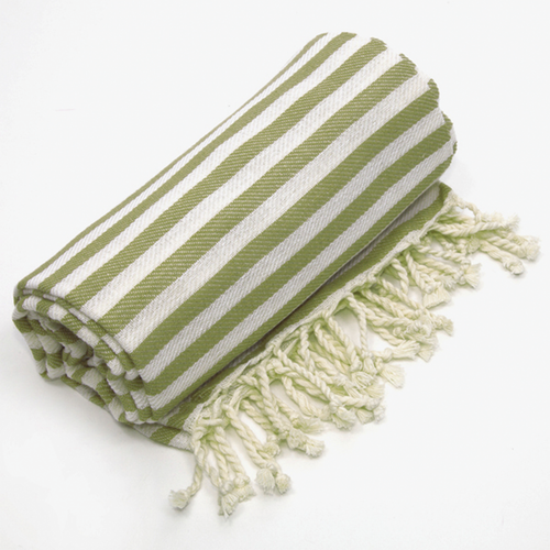 AN-TURKISH TOWEL-OLIVE