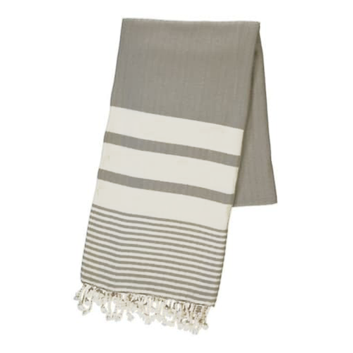 BUL-TOWEL-BANDED-GREY
