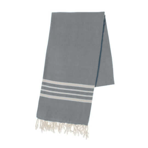 BUL-TOWEL-4STRIPE-GREY