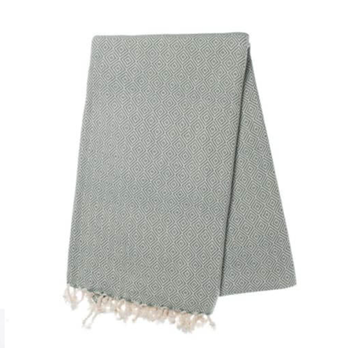 BUL-TOWEL-DIAMOND-GREY