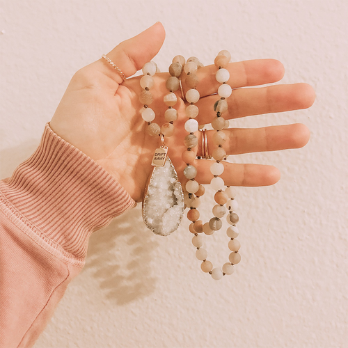 Haze Beaded Necklace