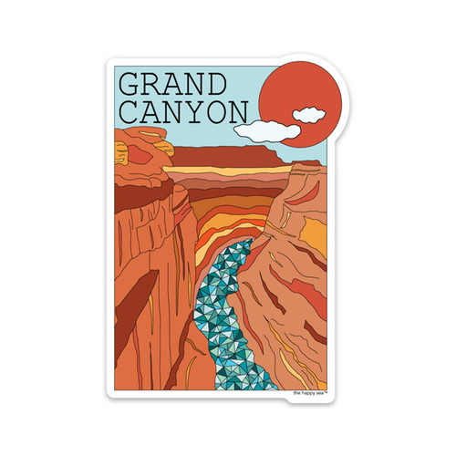 THS-GRAND CANYON STICKER
