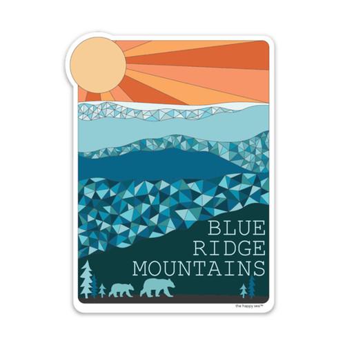 THS-BLUERIDGE MOUNTAIN STICKER