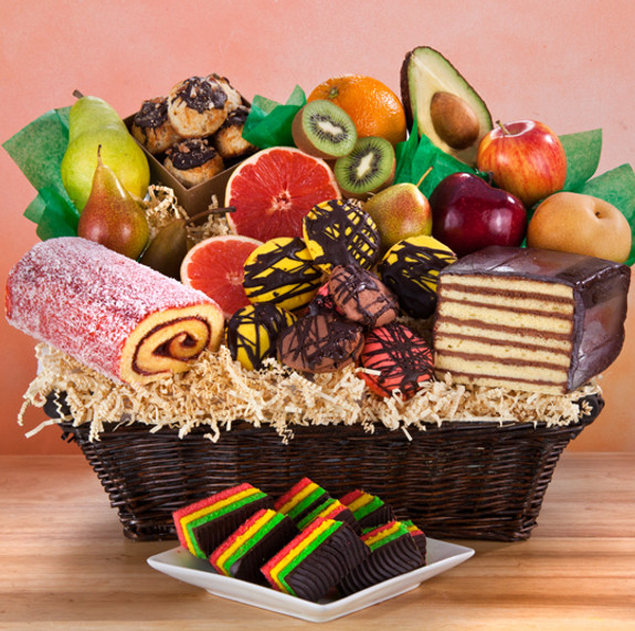 Fruitful Condolence Crate-Kosher for Passover