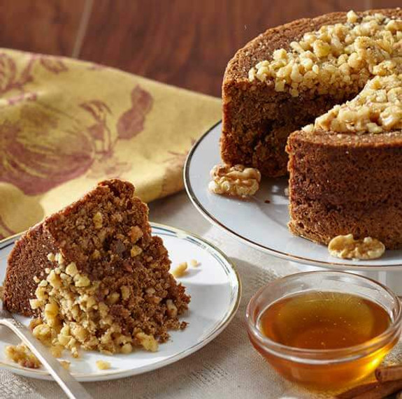 Honey Walnut Cake, Gluten Free & Kosher
