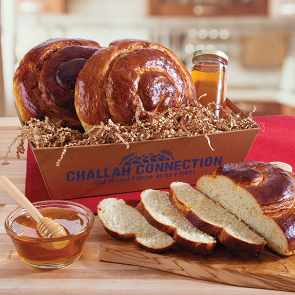 Challah and Honey Crate