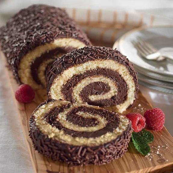 Gluten-Free Chocolate Roll