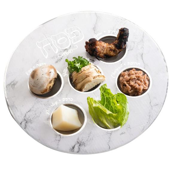 Complete Seder Plate - Kosher For Passover