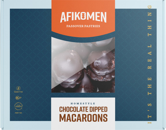 Gluten-Free Chocolate Dipped Macaroons