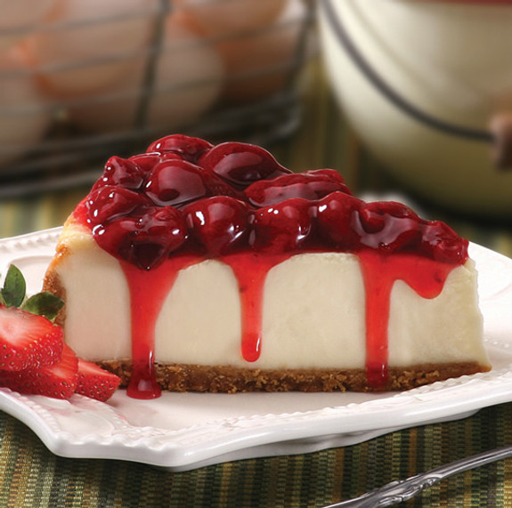Super-Strawberry Cheesecake