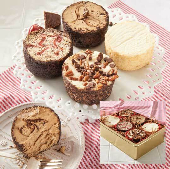 Assorted Gourmet Mini Cheesecakes - 12 Pack