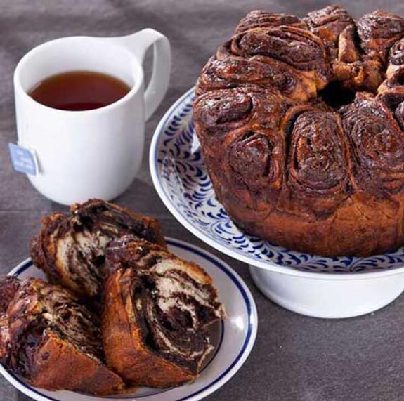 Artisanal Round Chocolate Babka