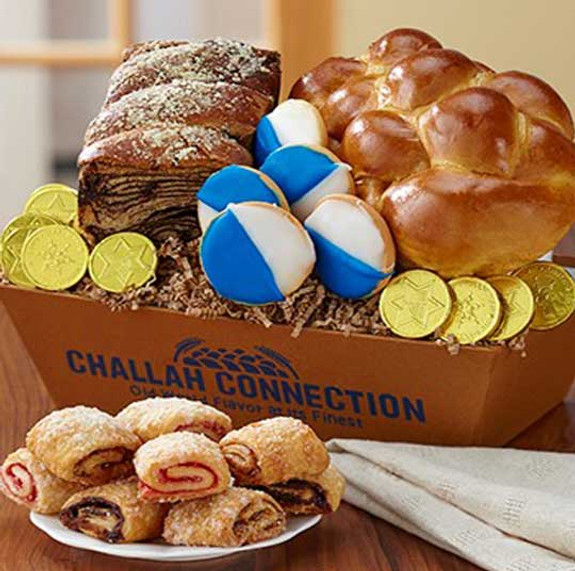 Chanukah Traditions Basket