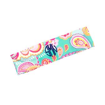 Summer Paisley Headband