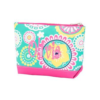 Monogrammed Piper Cosmetic Bag