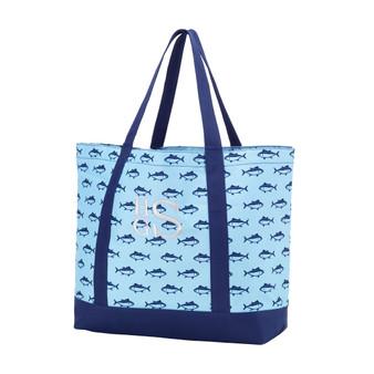 Monogrammed Finn Tote Bag