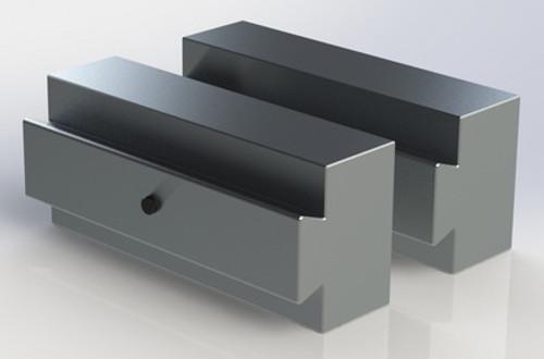 "Soft Jaw Aluminum 1"" x 1.71"" Flippable"