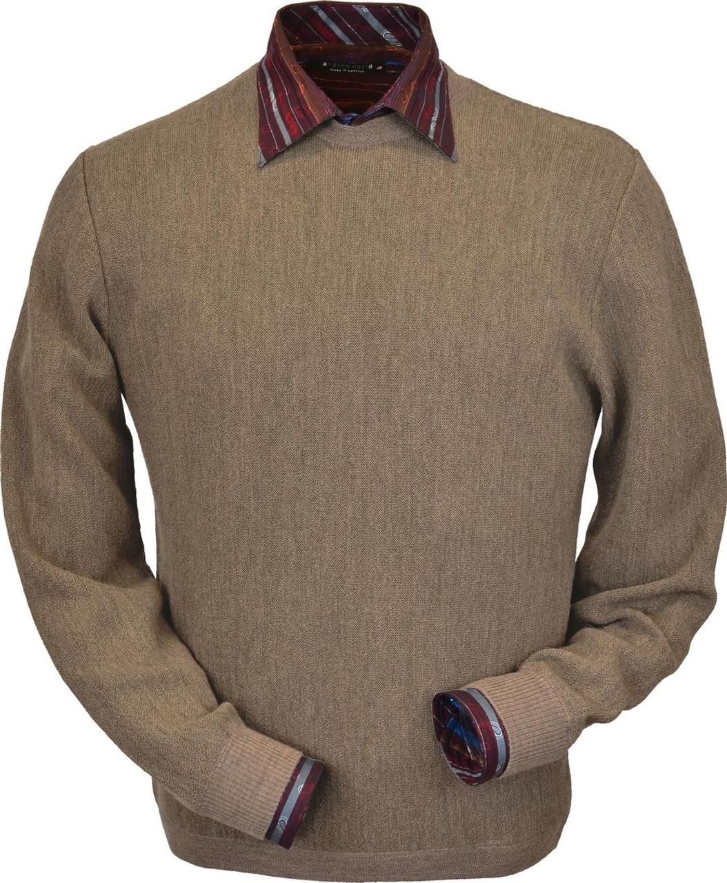 13e565753 Baby Alpaca Crewneck Sweater