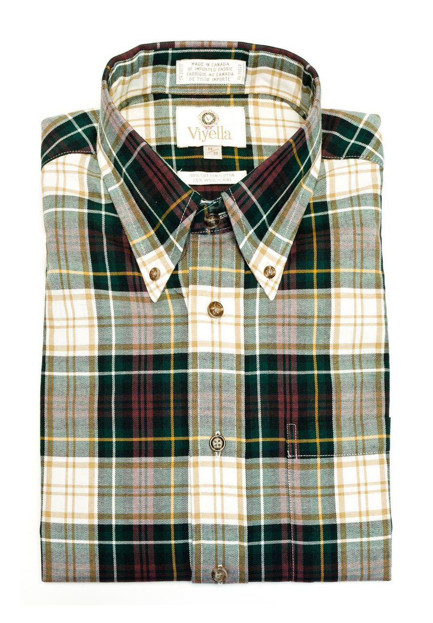 Viyella Long Sleeve Weathered Campbell Tartan Shirt Bradshaw Forbes