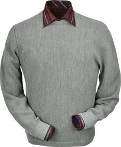 Peru Unlimited Baby Alpaca Crewneck Straight Bottom Sweater (Classic Fit)