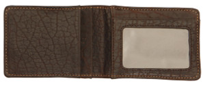 T.B. Phelps Cheyenne Bifold Bison Pocket Wallet