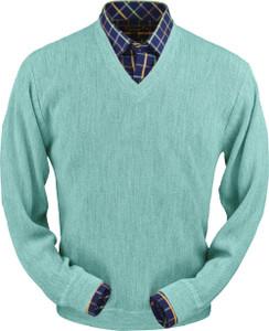 Peru Unlimited Baby Alpaca V-Neck Sweater (Classic Fit)