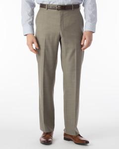 Ballin Super 110s Comfort-EZE Sharkskin Dress Pants-Dunhill