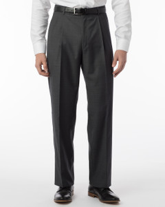 Ballin Super 110s Comfort-EZE Sharkskin Dress Pants-Manchester