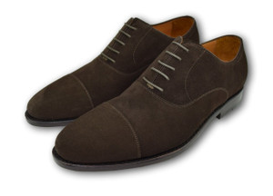 Armin Oehler Macon -Well-Bred Brown Suede