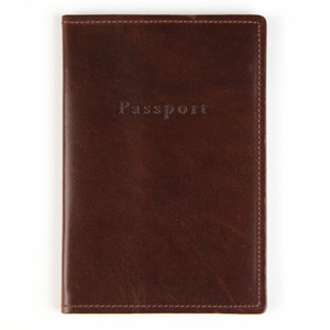 Moore & Giles Leather Passport Cover