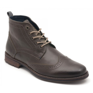 Parc City Boot Co. Big Bend Boot in Forest Leather